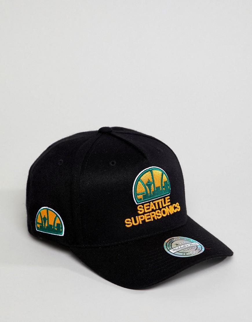 Lyst - Mitchell   Ness Eazy Baseball Cap Seattle Supersonics in ... 76244b197e5e
