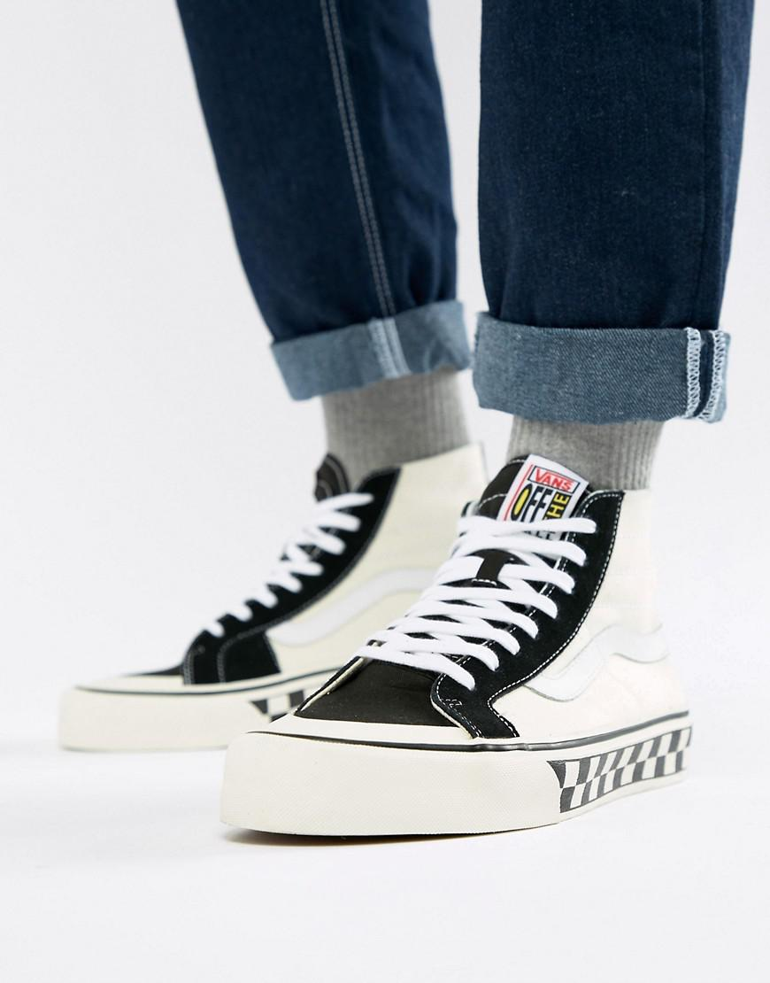 Vans Sk8-hi 138 Decon Sf Sneakers In Black Va3mv1r34 in Black for Men - Lyst d7fcb21df