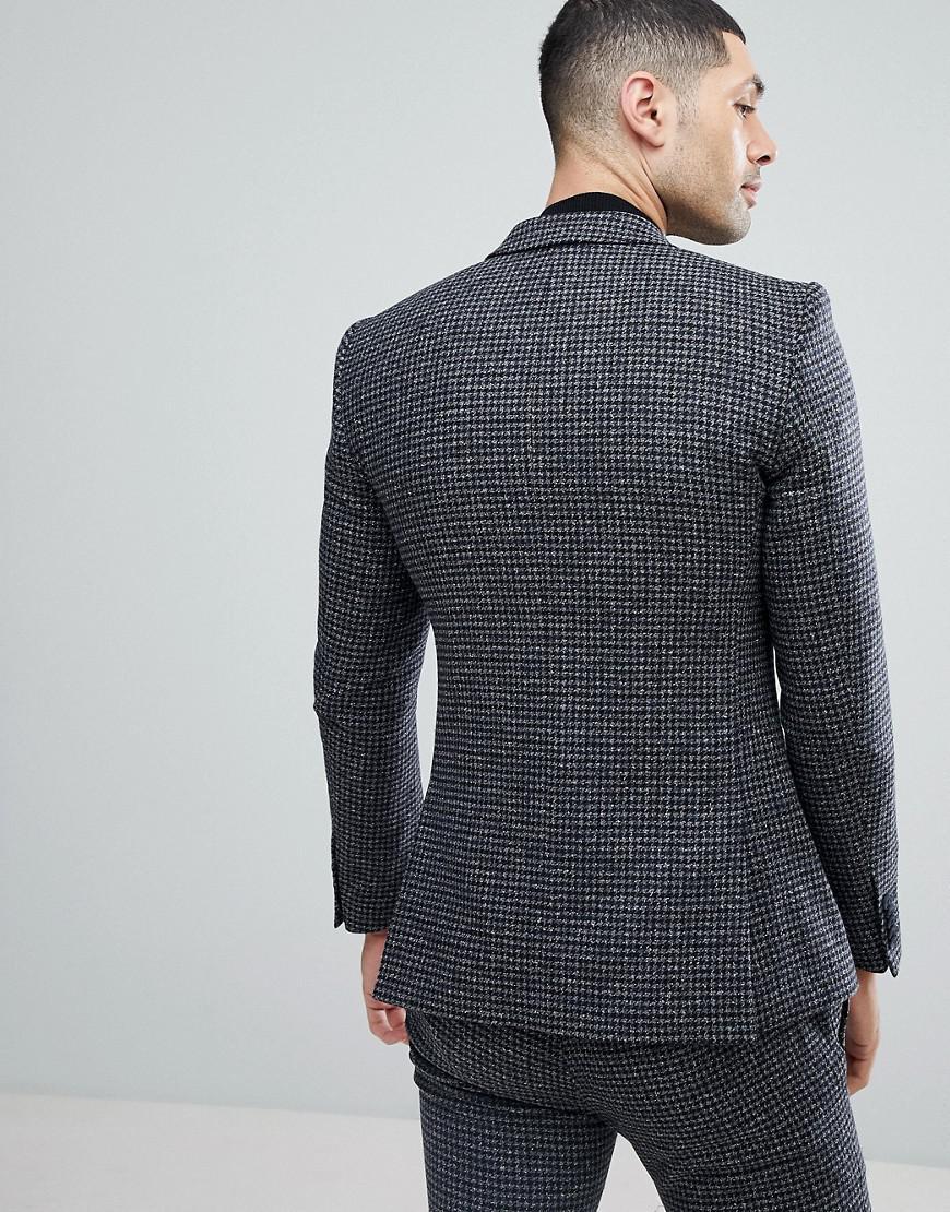 Heart & Dagger Super Skinny Suit Jacket in Grey (Grey) for Men