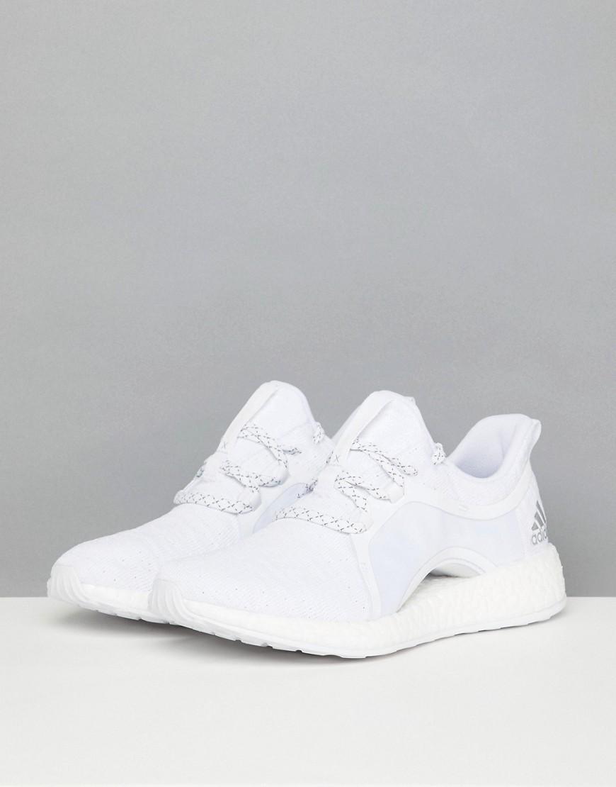 adidas Pureboost X In All White - Lyst