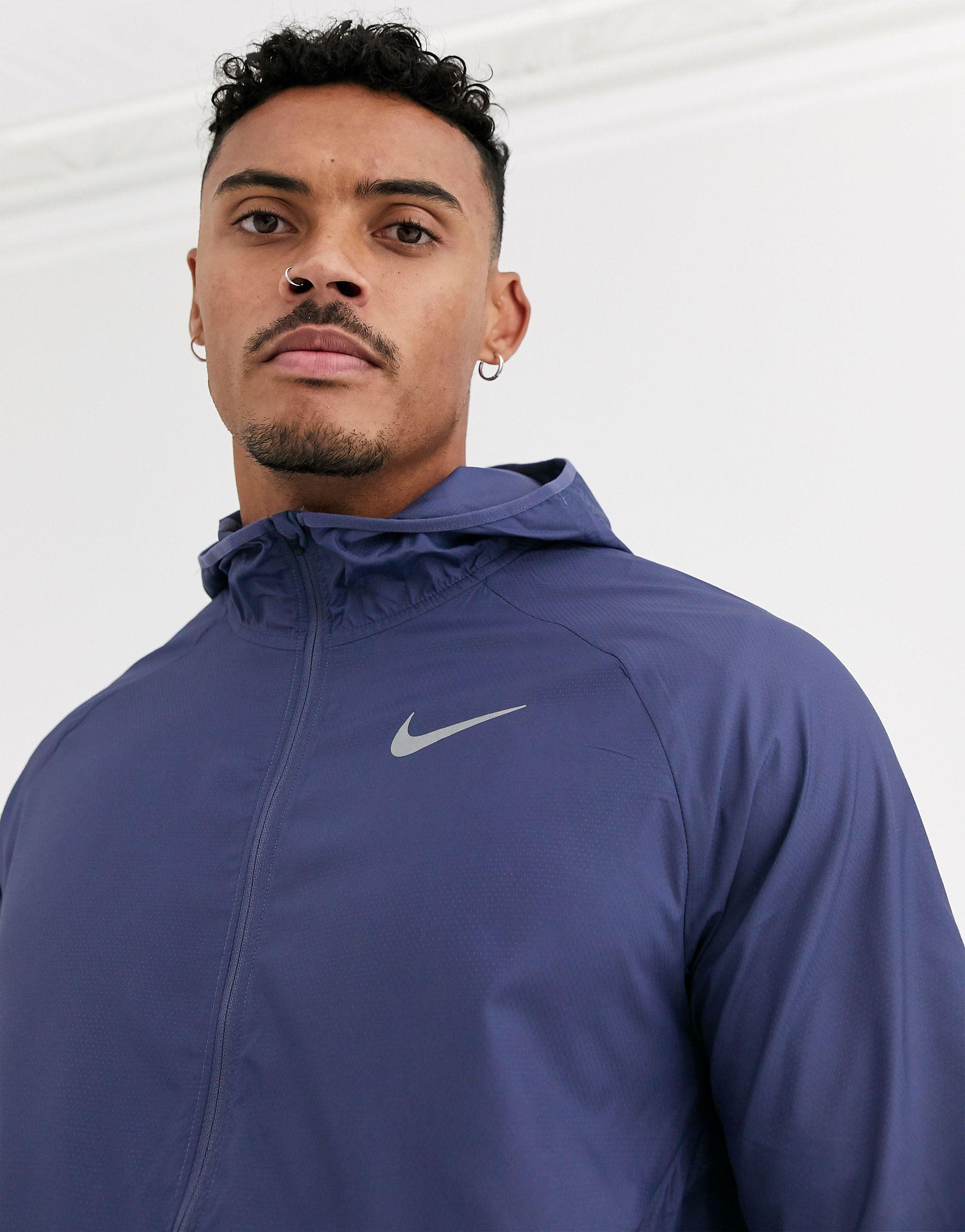 Nike Synthetisch Nike - Running Essential - Jack in het Blauw voor heren