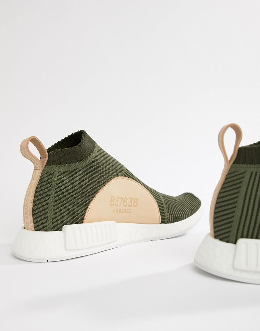 adidas Originals Nmd cs1 Pk Trainers In Green B37638 in Green for Men - Lyst c41b1a67f