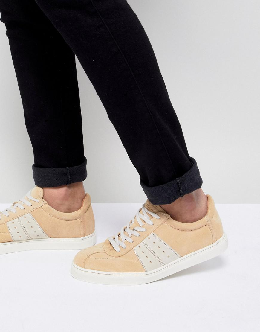 Selected Premium Sneaker With Panel Details t889x