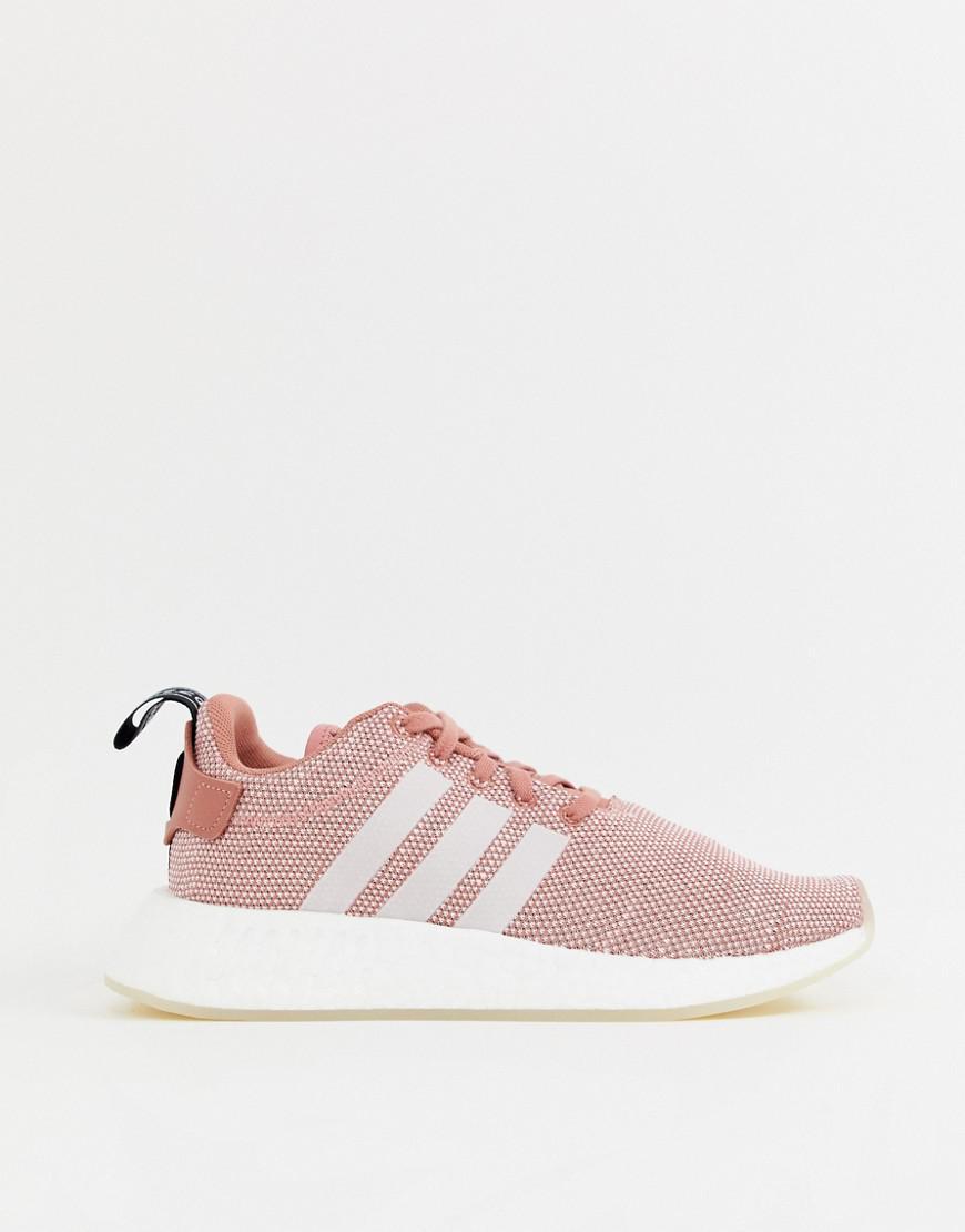 c1b3344414b6e Lyst - adidas Originals Addias Originals Nmd R2 Sneakers in Pink