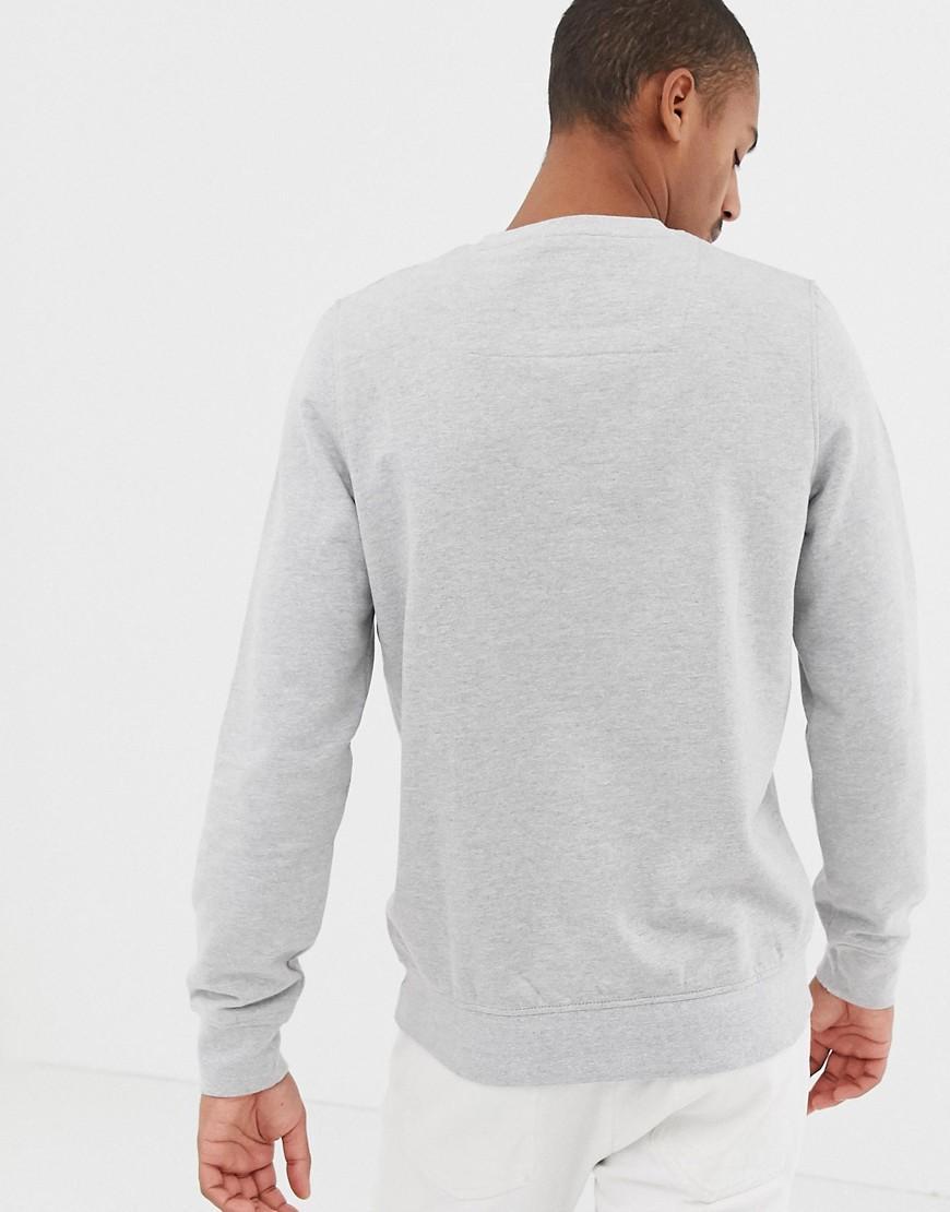 Threadbare Katoen Plus - Yo Yo Yo Santa Sweater Met Ronde Hals in het Grijs voor heren
