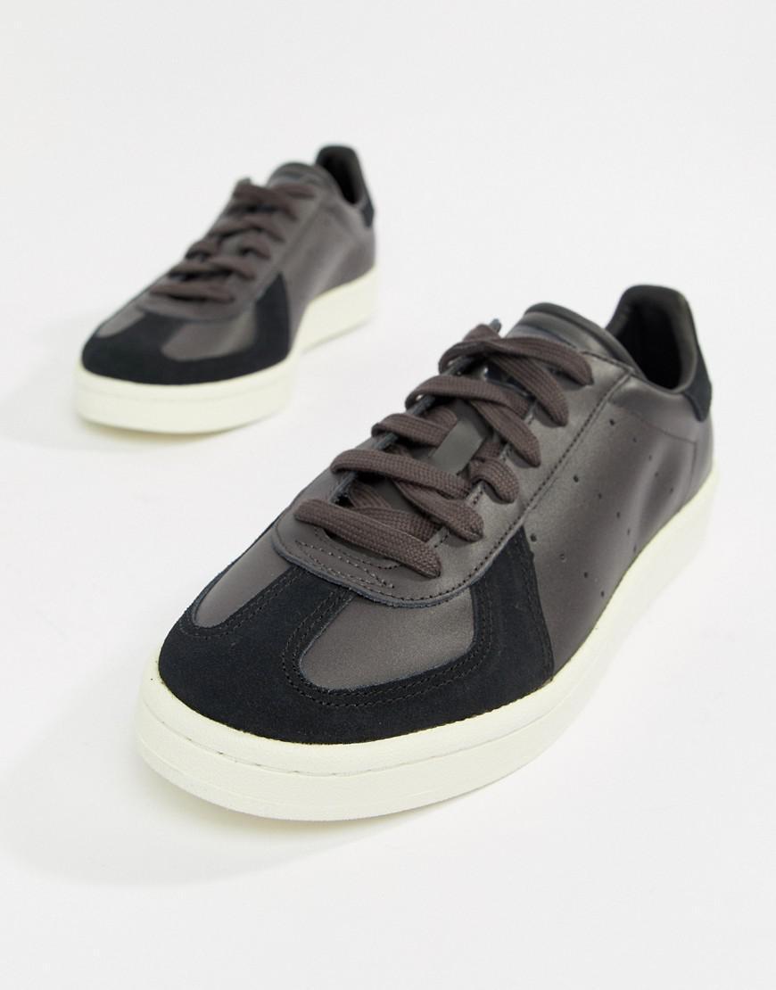 Lyst adidas Originals BW Avenue formadores en negro negro bz en negro en d1d72f