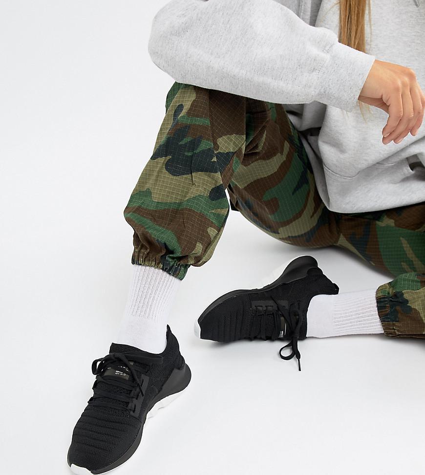 adidas originals eqt racing adv primeknit trainers in black