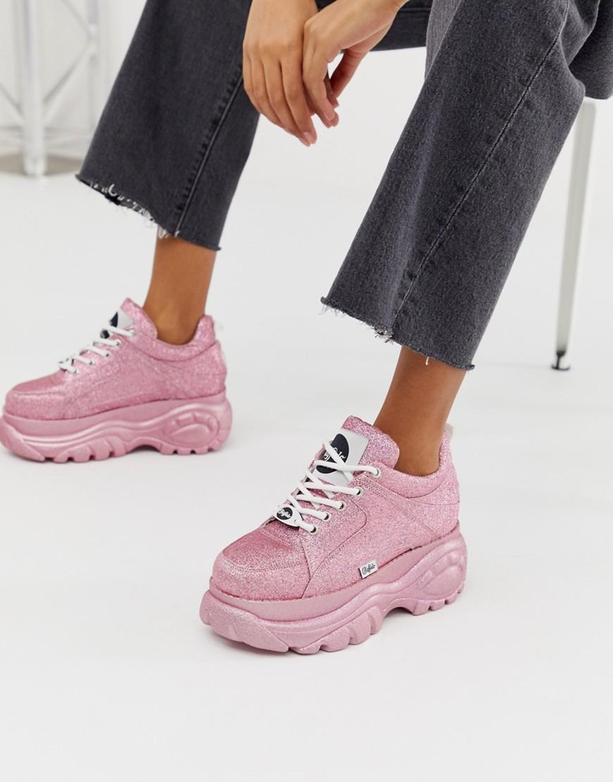 buffalo pink sneakers