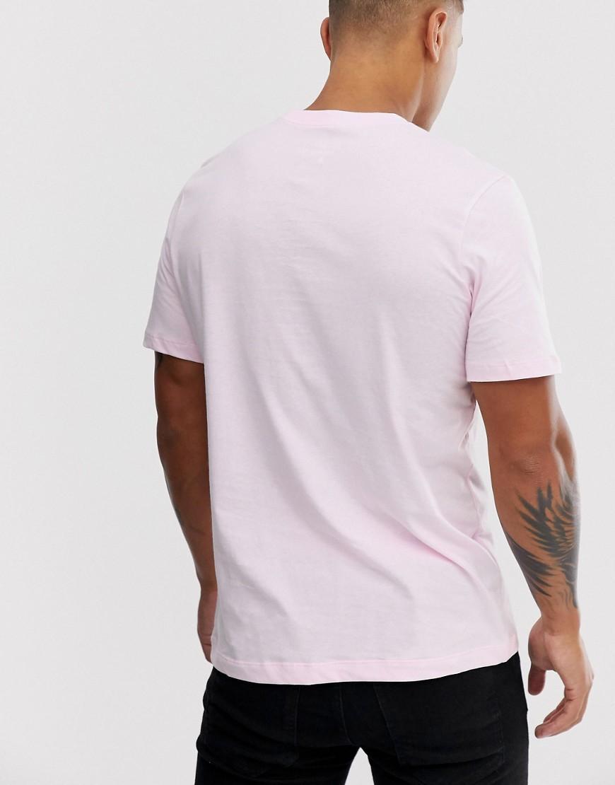 Nike Katoen Club - T-shirt Met Logo in het Roze voor heren
