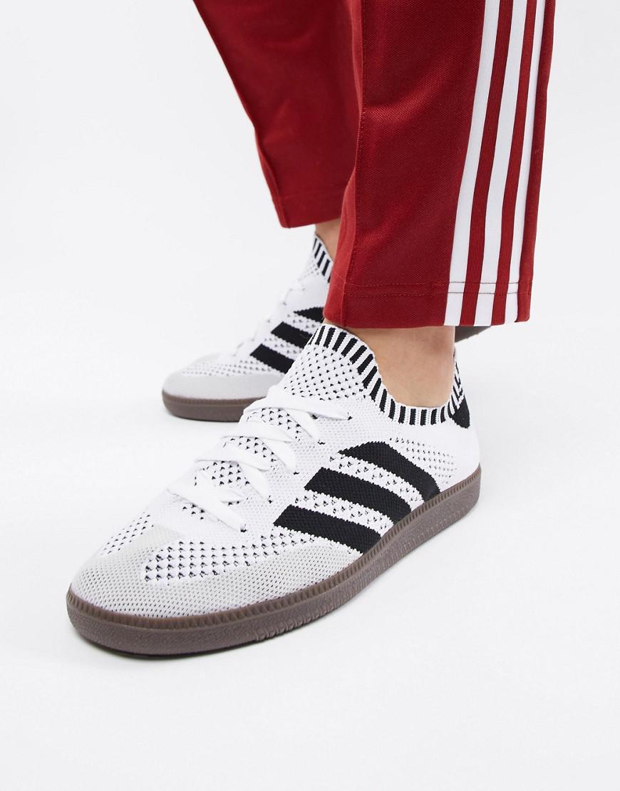 store mens adidas originals samba primeknit white sock shoes sneakers  cq2218 sz 52b14 55f7a  order adidas originals. mens samba primeknit 981cb  b3030 3f69ff328