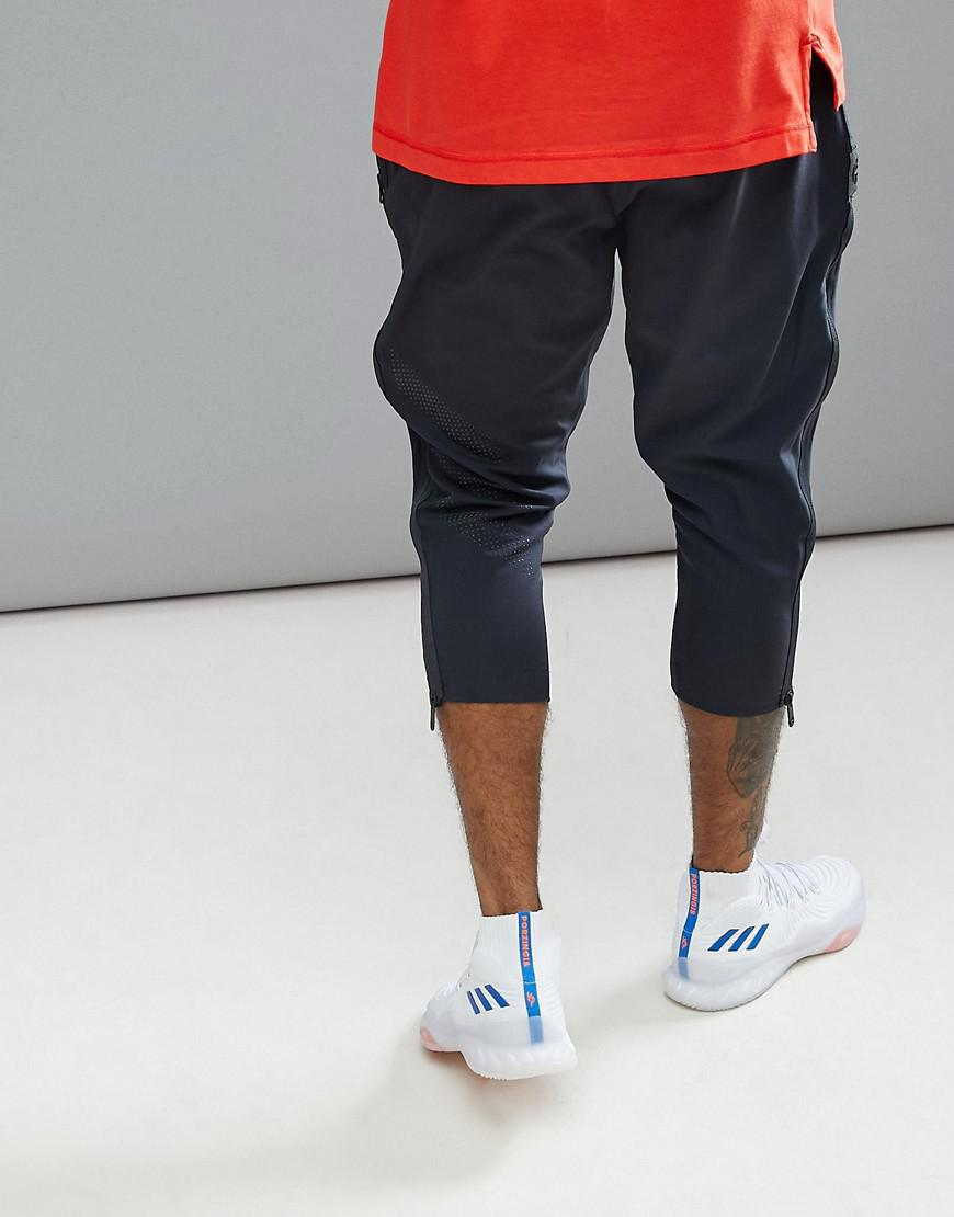 adidas Basketball Mvp Trousers In Grey Ce7329 in Grey for Men