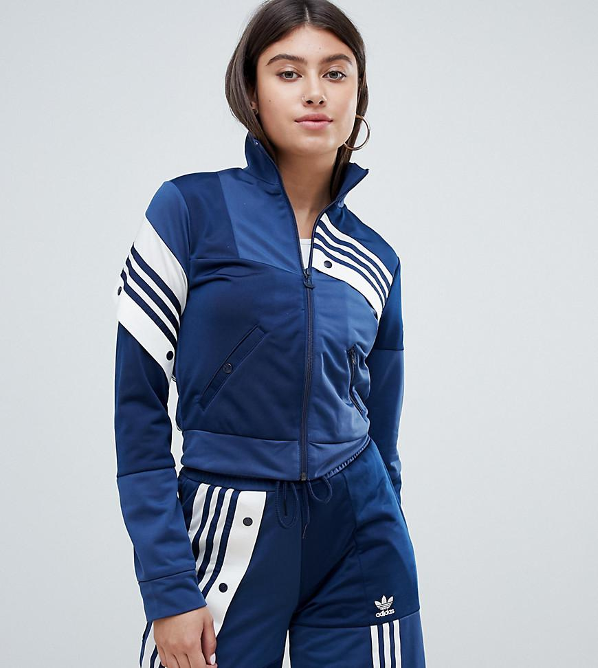cb97616aba2b adidas Originals. Women s Blue X Danielle Cathari Deconstructed Track Top In  Navy