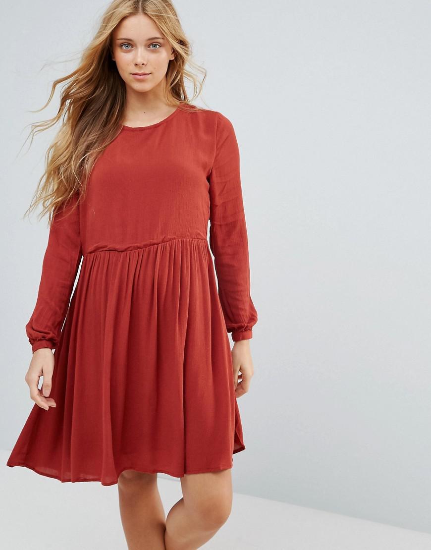 ffa710ea3b72 Lyst - Pepe Jeans London Mews Dress in Brown