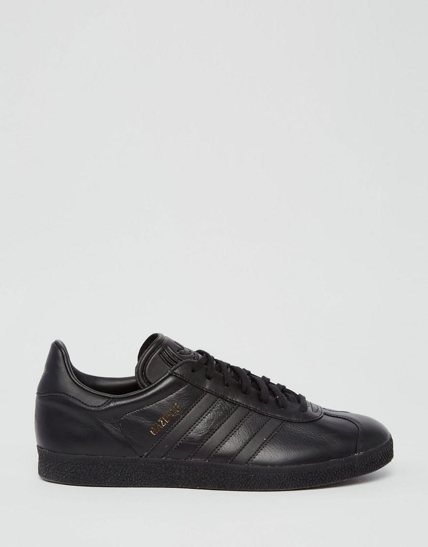 Gazelle Sneakers In Black Bb5497