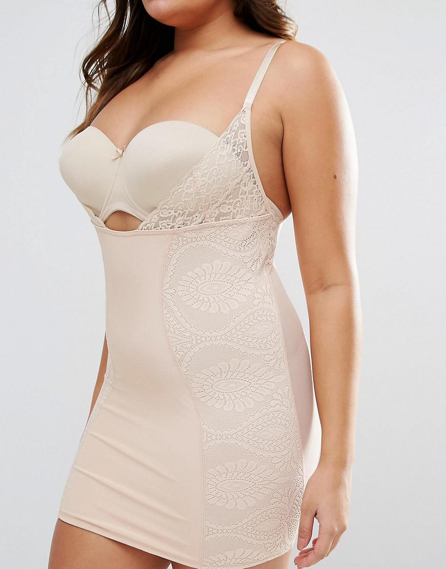 6e2e48ce1 ASOS Shapewear New Improved Fit Wear Your Own Bra Lace Slip in ...