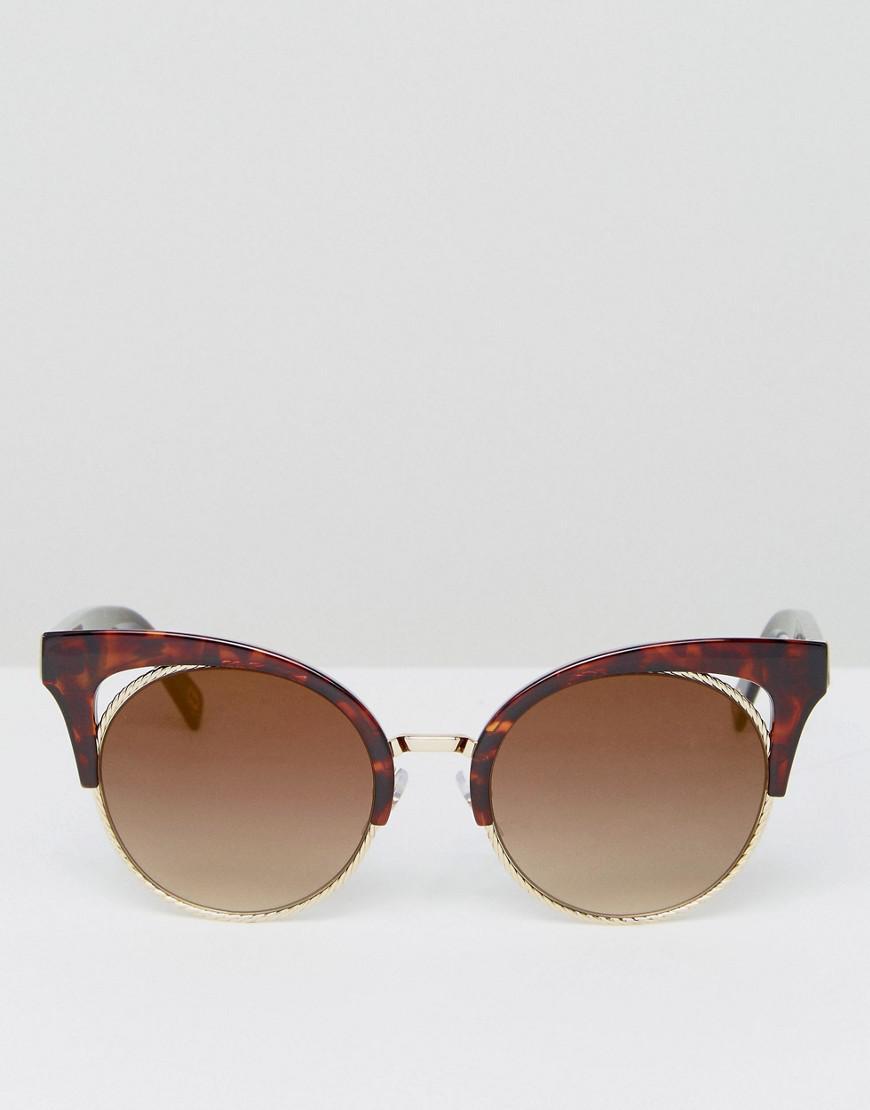 Marc Jacobs Cat Eye Sunglasses In Tort in Brown for Men
