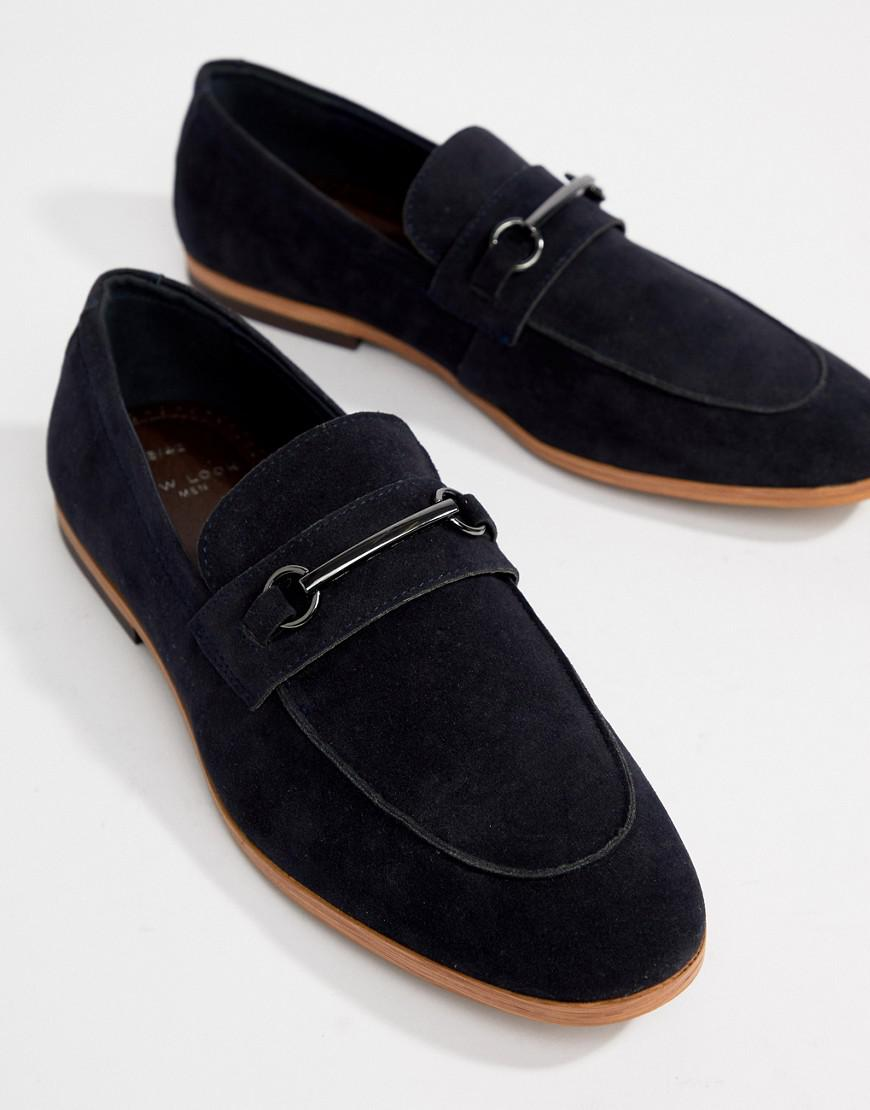 Loafers In Navy - Navy New Look