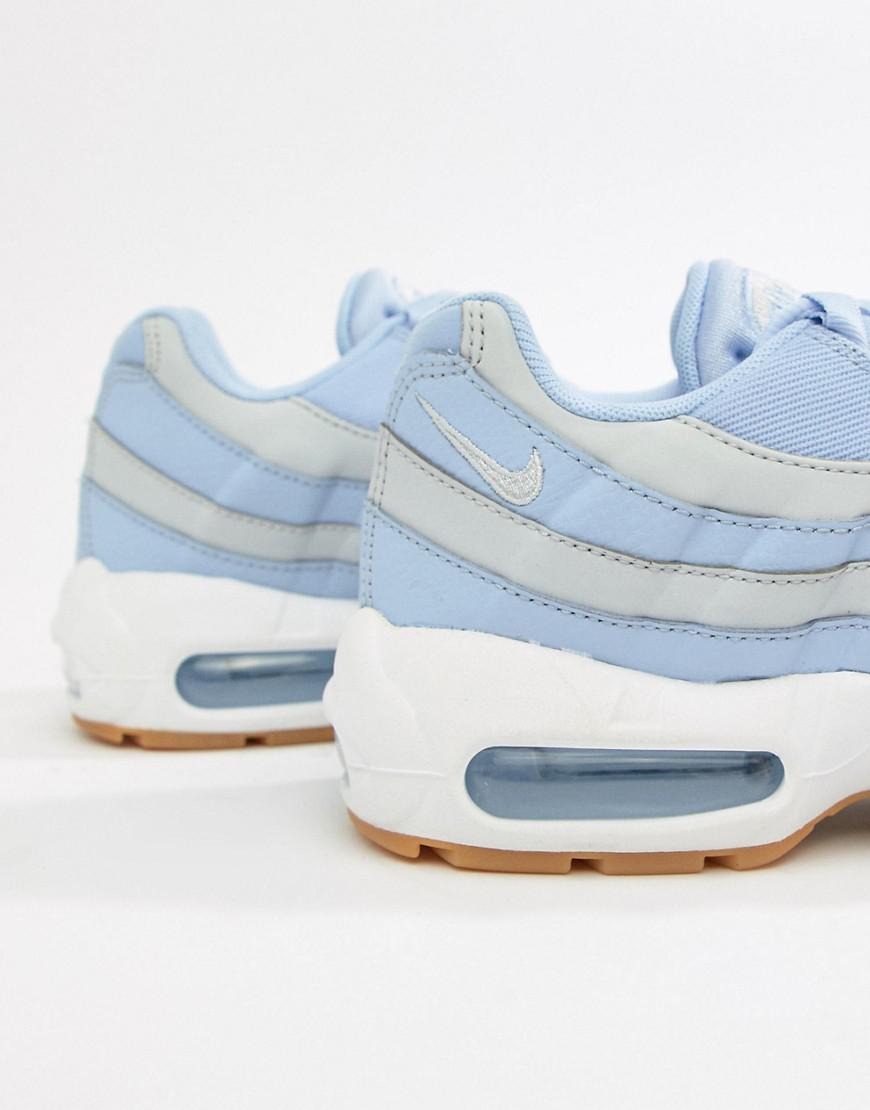Nike Blue And Grey Ombre Air Max 95