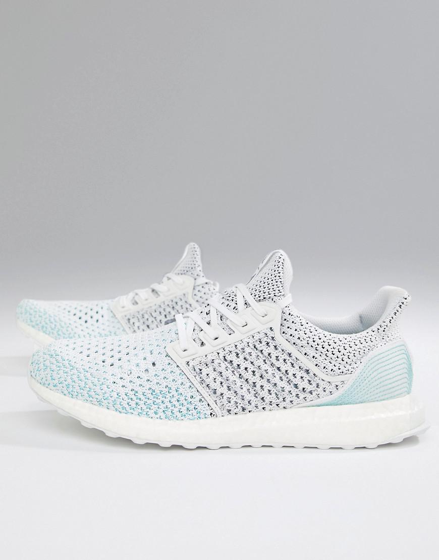 ea8d94100 adidas Running Ultraboost Parley Knitted Sneakers In White Bb7076 in ...