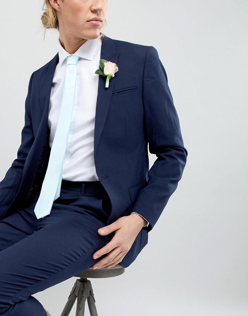 Wedding Tie In Mint Green - Mint green New Look btx538