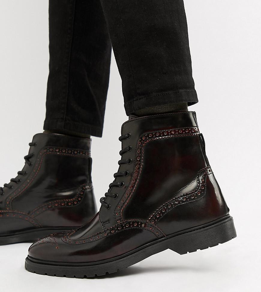 b85d236148c44 asos-red-Wide-Fit-Lace-Up-Brogue-Boots-In-Burgundy-Leather-With-Ribbed-Sole.jpeg