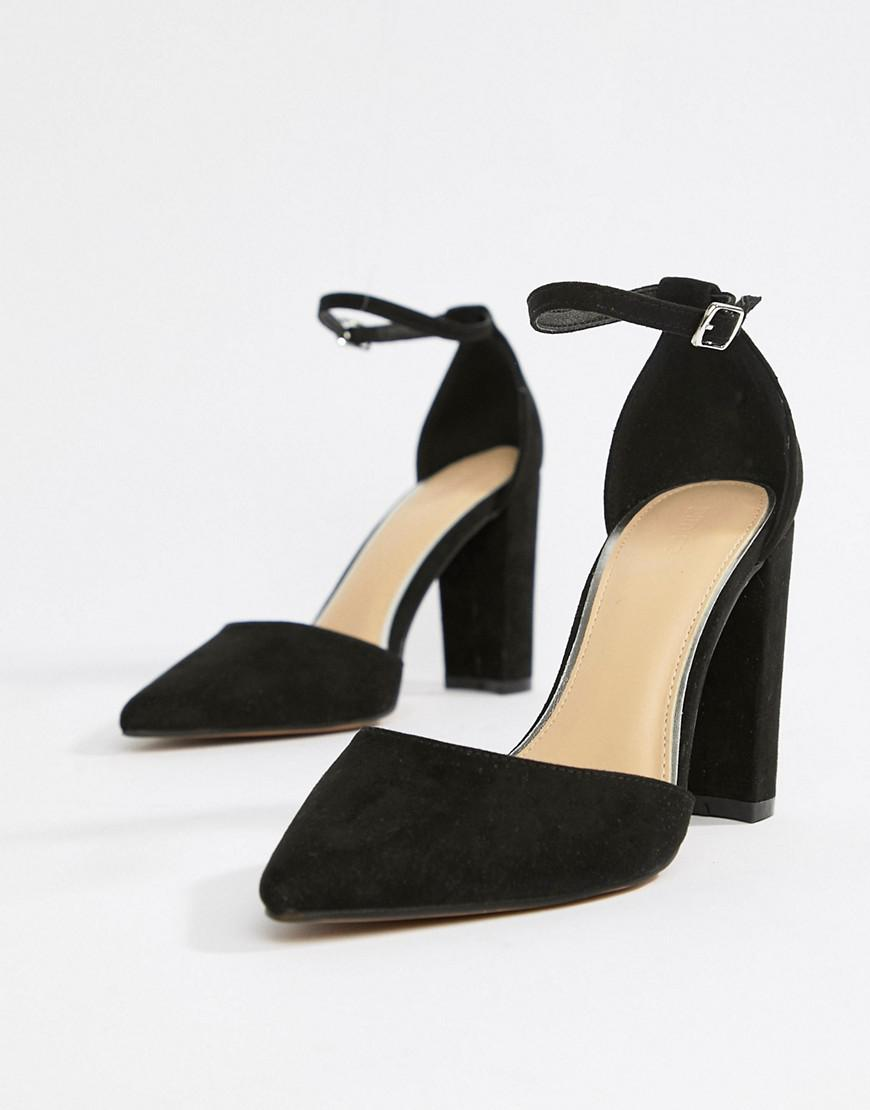 b9e9988926 Pimkie Pointed Heeled Shoe in Black - Lyst
