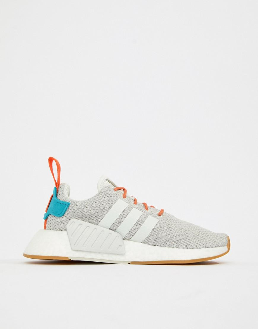 adidas Originals Nmd R2 Trainers in White