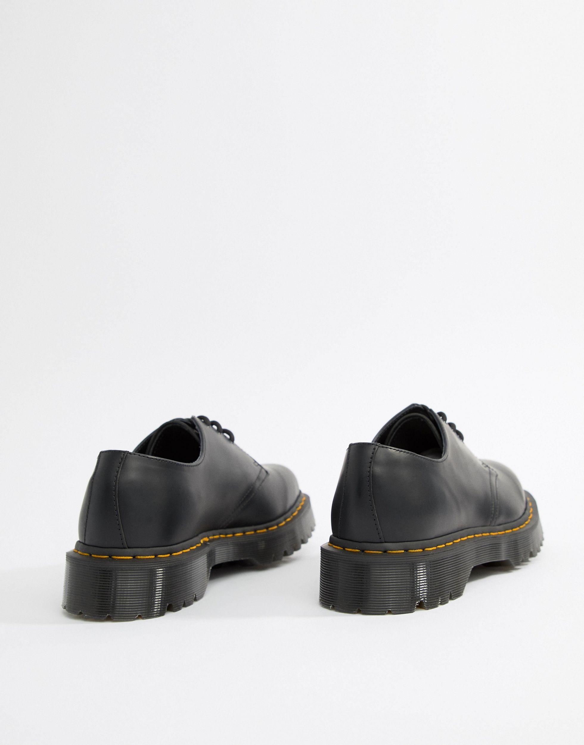 dr martens 1461 bex black factory 2486c