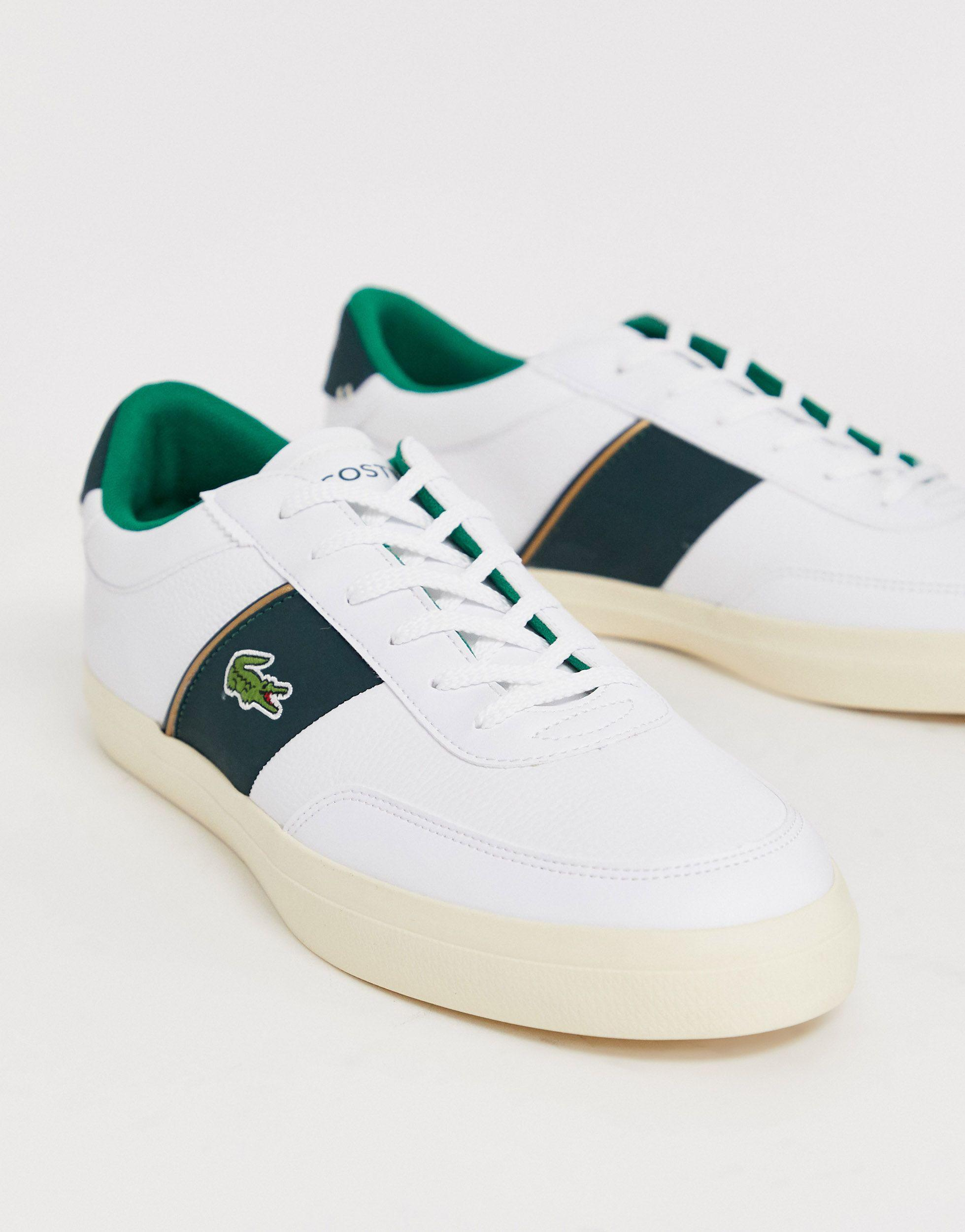 Lacoste Leather Courtmaster Trainers