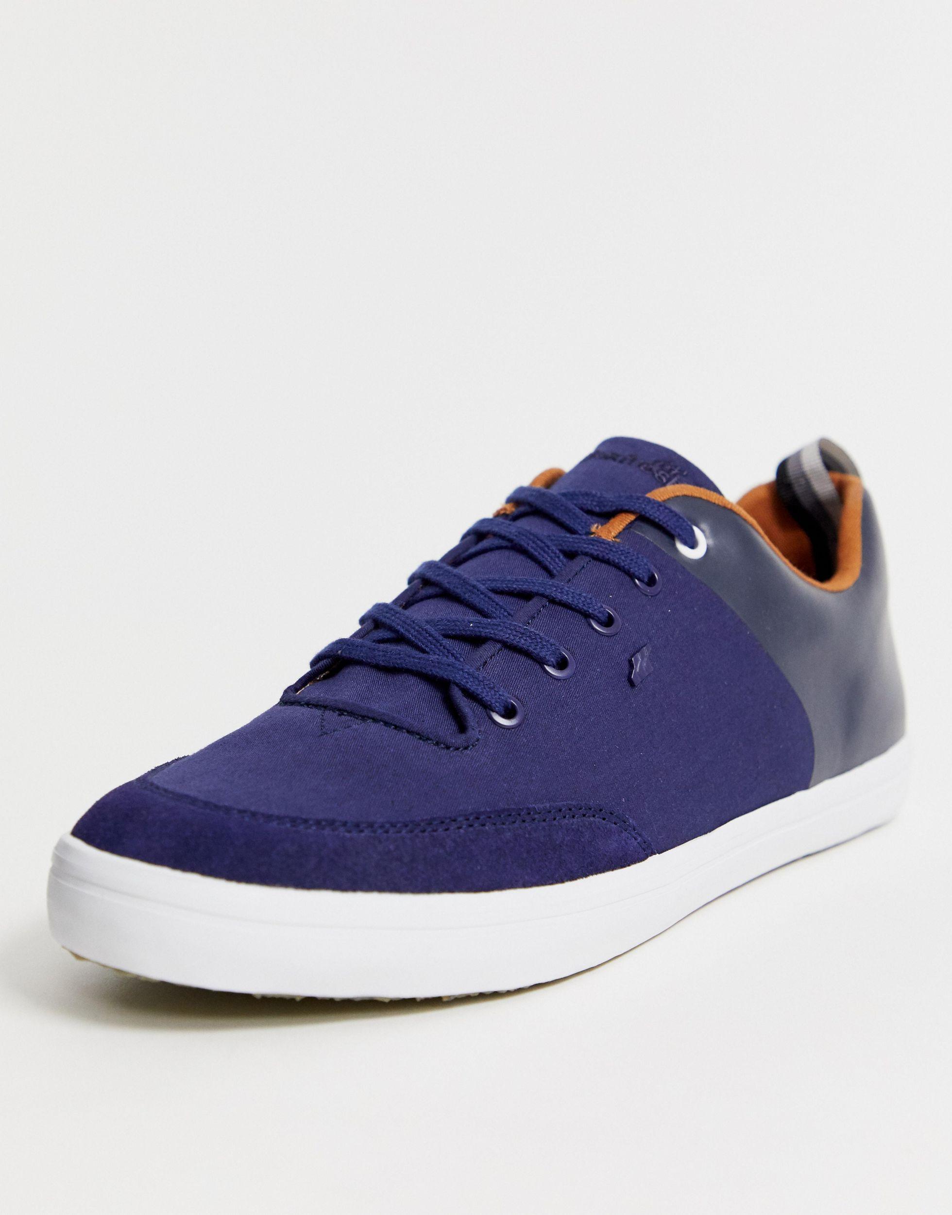 Boxfresh Leer Castel - Sneakers in het Blauw voor heren