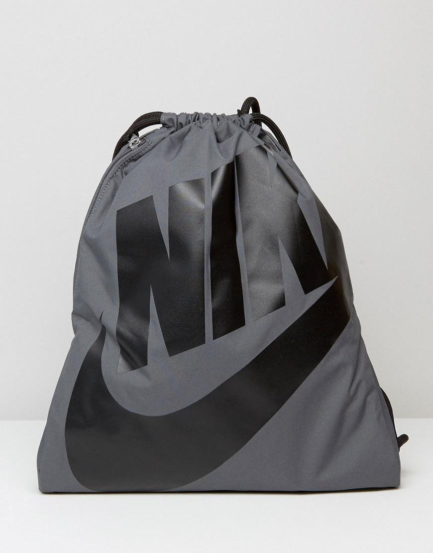d4da7d9c69 Nike Heritage Drawstring Backpack In Black- Fenix Toulouse Handball