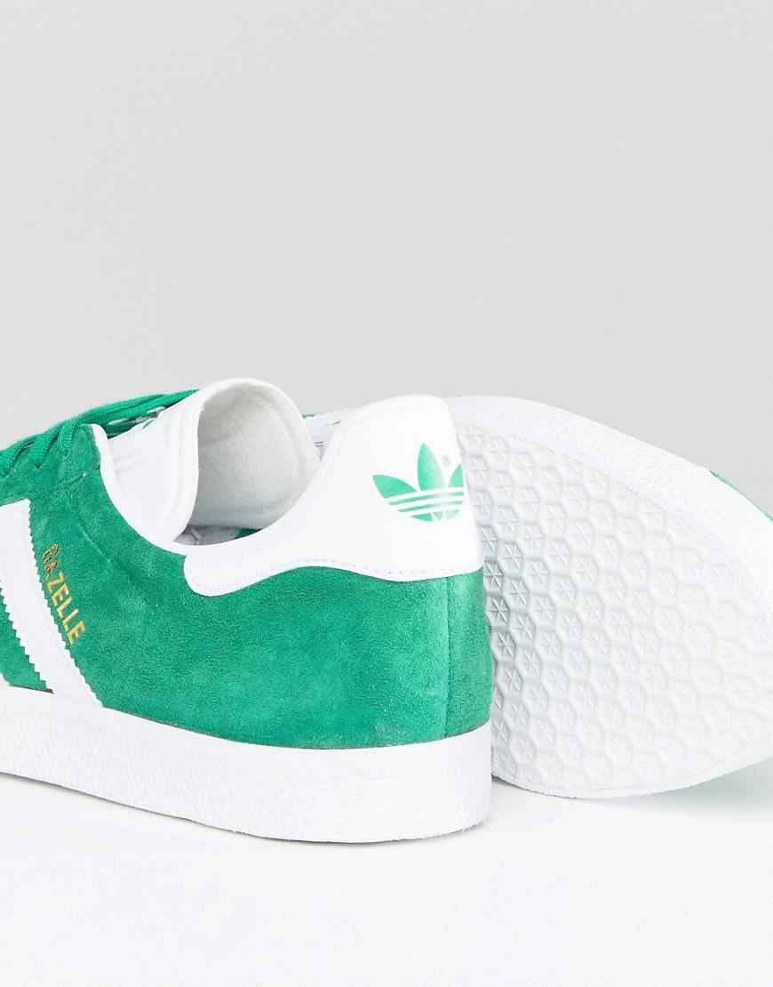 Adidas Originali Gazzella Scarpe In Verde Bb5477 In Verde Per Gli Uomini.