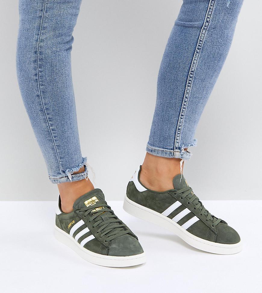 ADIDAS ORIGINALS Sneaker Low Campus champagner Damen Schuhe
