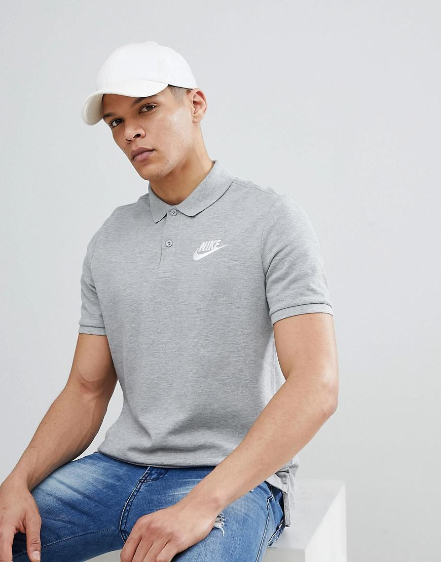 3c44c29d2ce6c Nike Matchup Polo Shirt In Grey 909746-063 in Gray for Men - Lyst