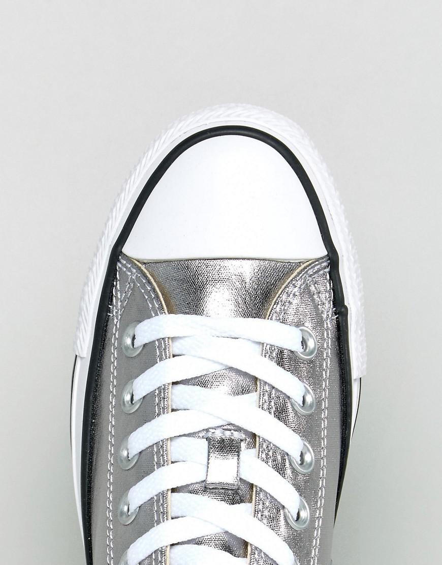 metallic silver converse | ventes flash