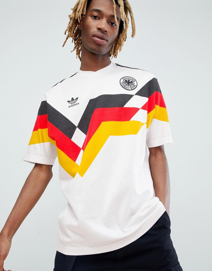 adidas Originals Retro Germany Football Jersey In White Ce2343 for ...