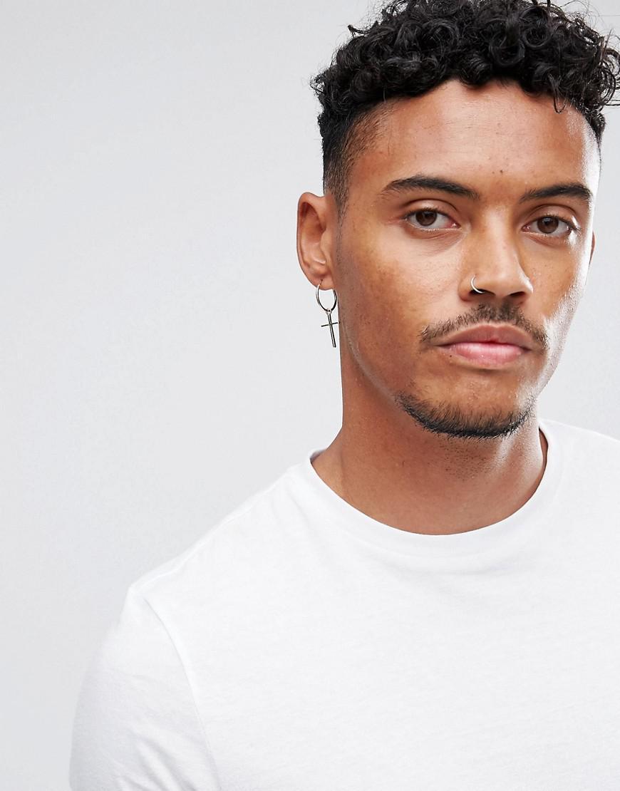 Dangle Cross Earrings For Mens Image Of Earring