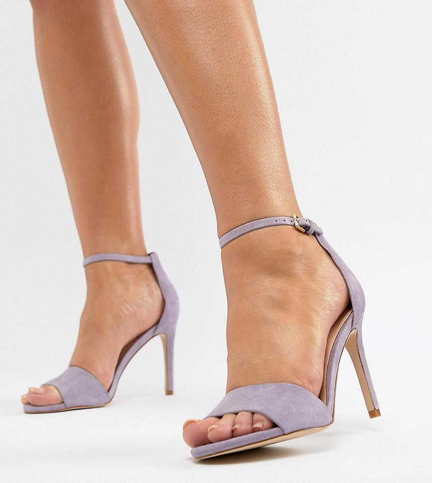 c0b26a407c4 Lyst - ALDO Wide Fit Fiolla Barely There Sandal in Purple
