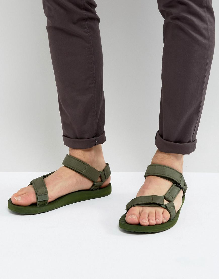 115d60f6721a66 Lyst - Teva Original Universal Ripstop Sandals in Green for Men