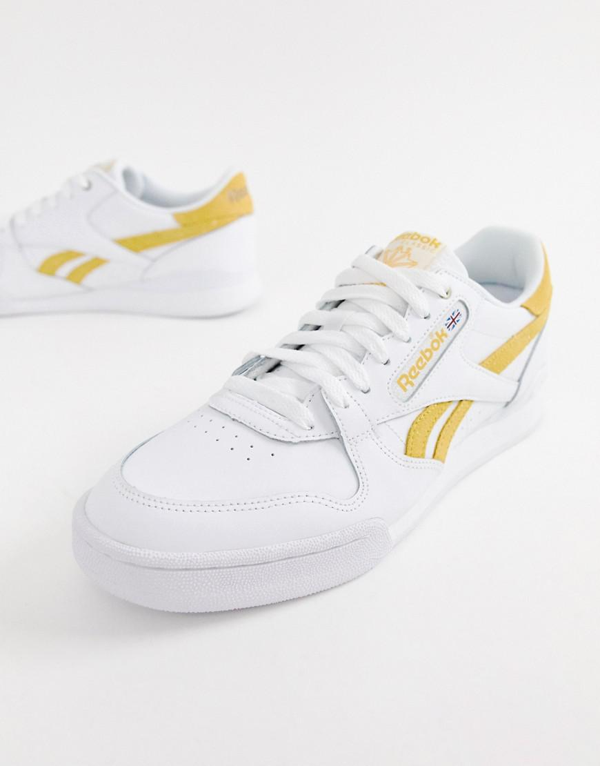 Reebok - Phase 1 Pro Sneakers In White Cn3855 for Men - Lyst. View  fullscreen 06184a390