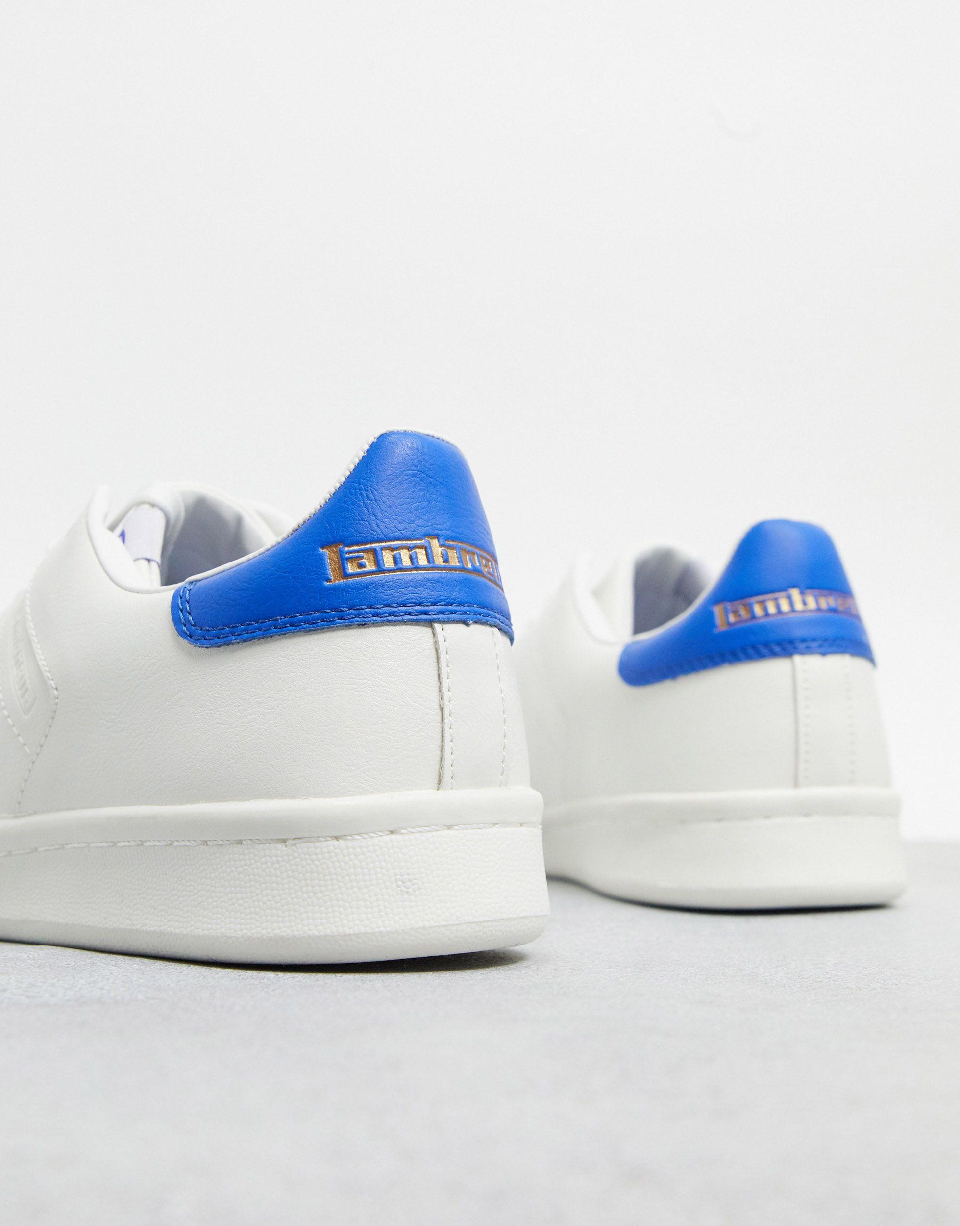 Lambretta Canvas Retro Sneakers in het Wit voor heren