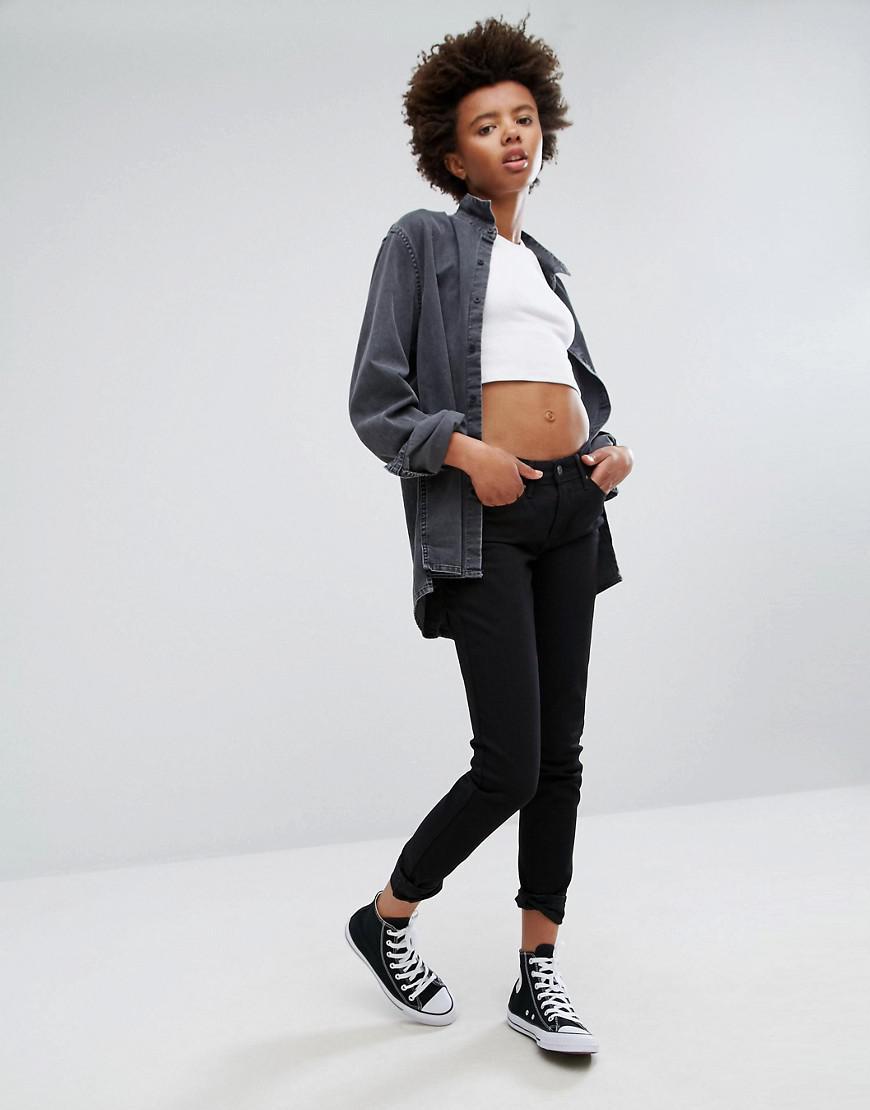 Levi's Denim Revel Skinny Jeans in Black