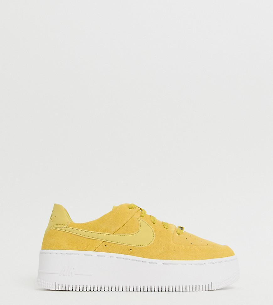 nike air force 1 sage low yellow