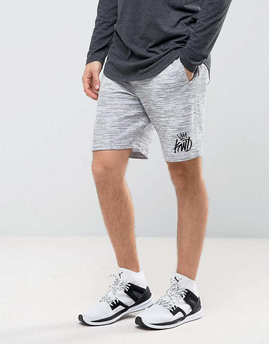Kings Will Dream Skinny Shorts In Grey in Gray for Men - Lyst b6eb0b0688