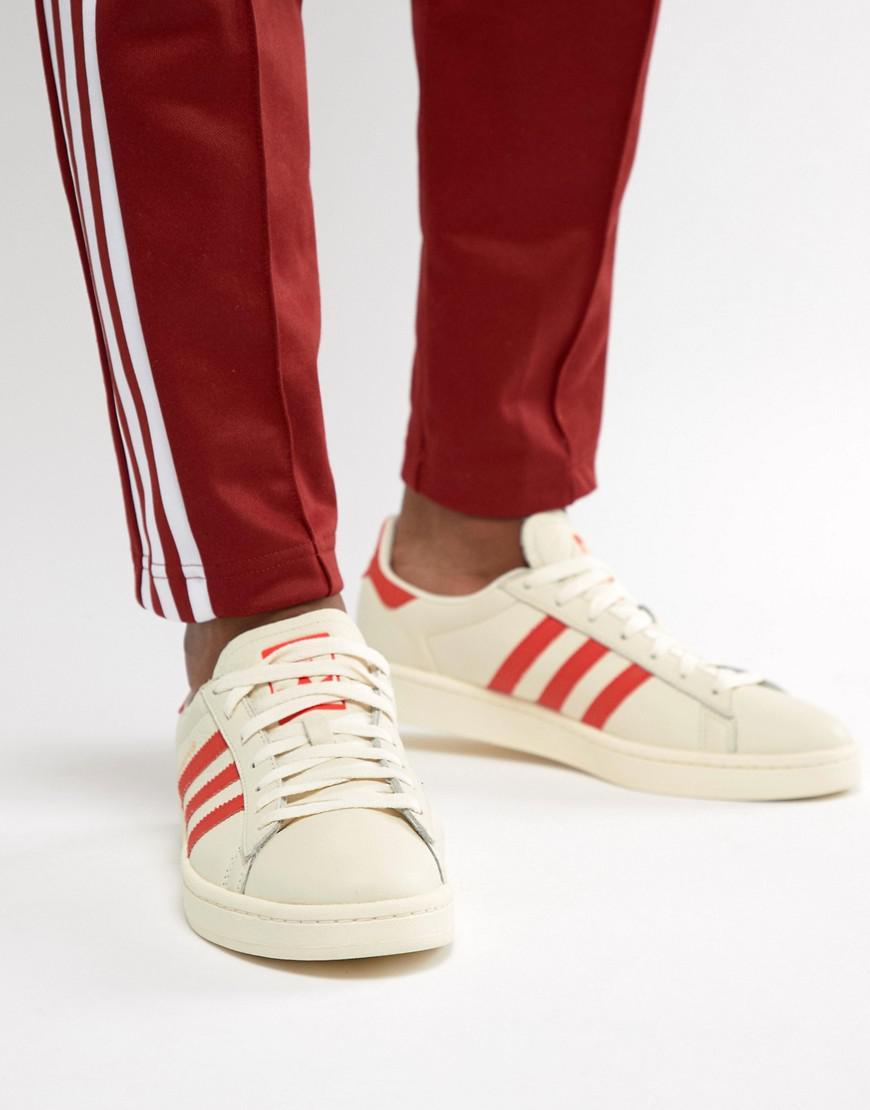 c1aa02cb1cb4 adidas Originals Campus Sneakers In White Cq2069 in White for Men - Lyst