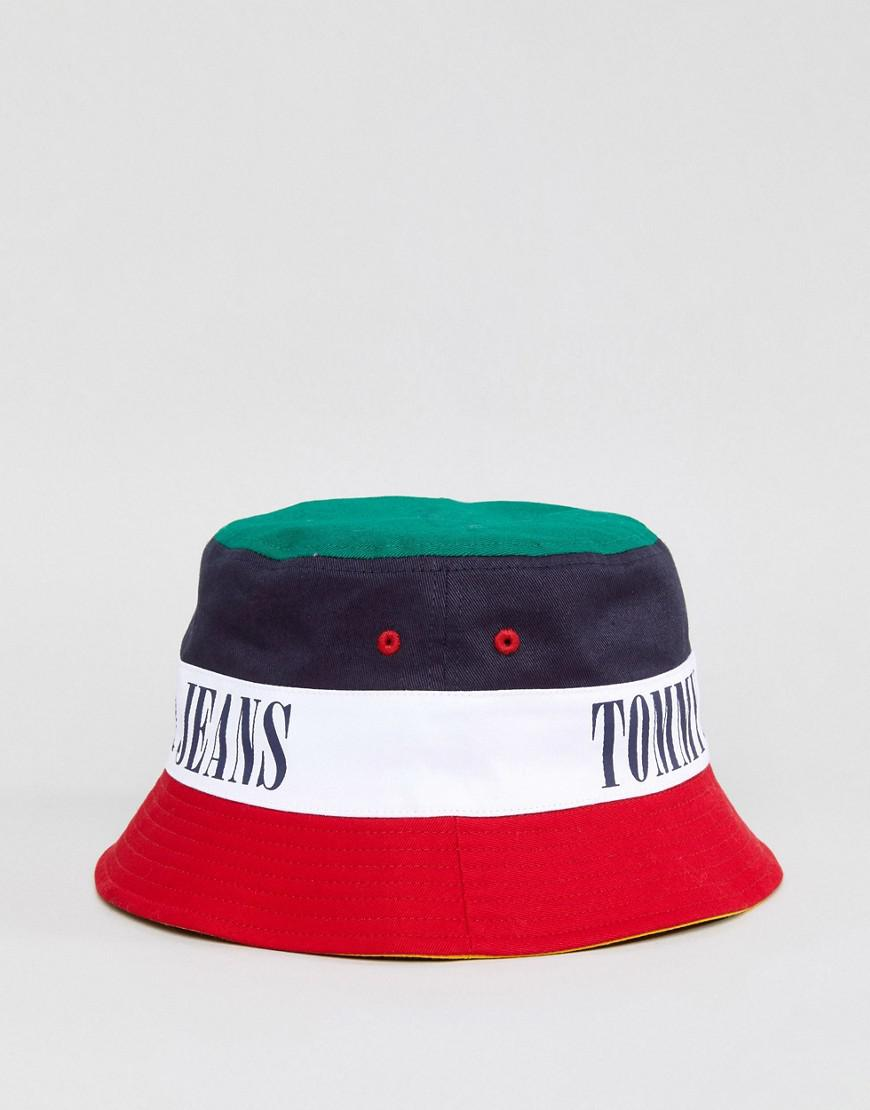 6e7460a89 Tommy Hilfiger Tommy Jean 90s Capsule Bucket Hat - Lyst