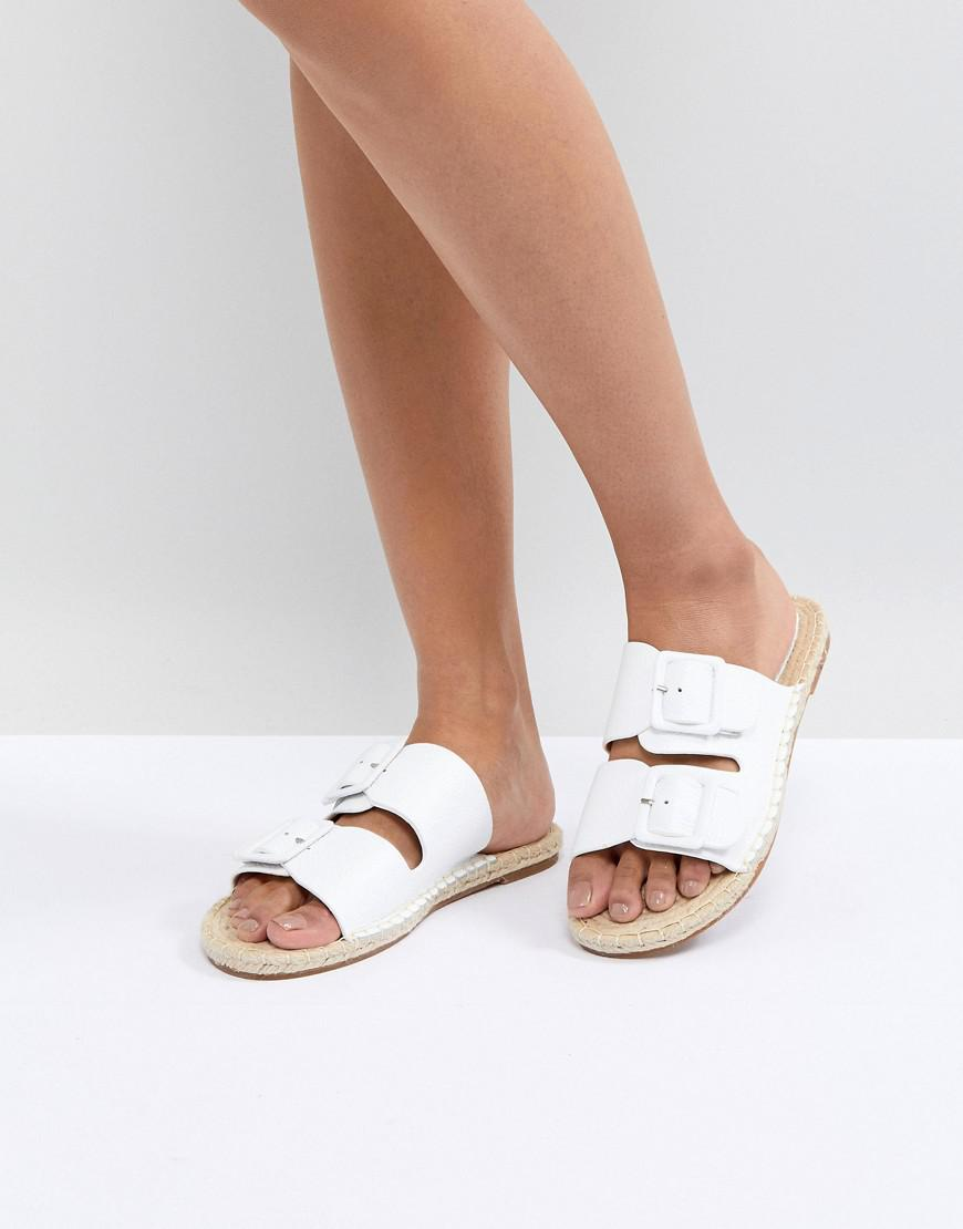 Suncoo Cross Front Flat Sandals in Suede under $60 sale online BFBCZFbj