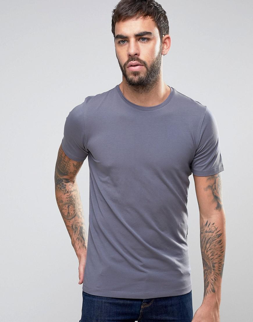 jack jones premium t shirt in blue for men lyst. Black Bedroom Furniture Sets. Home Design Ideas