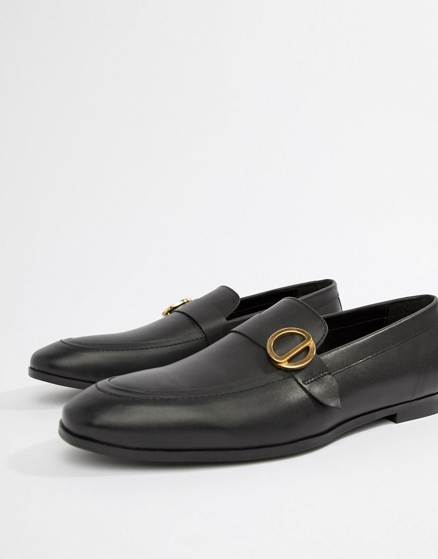 a2c0cb0bf7d KG by Kurt Geiger Kg By Kurt Geiger Wide Fit Rushden Loafers in Black for  Men - Lyst