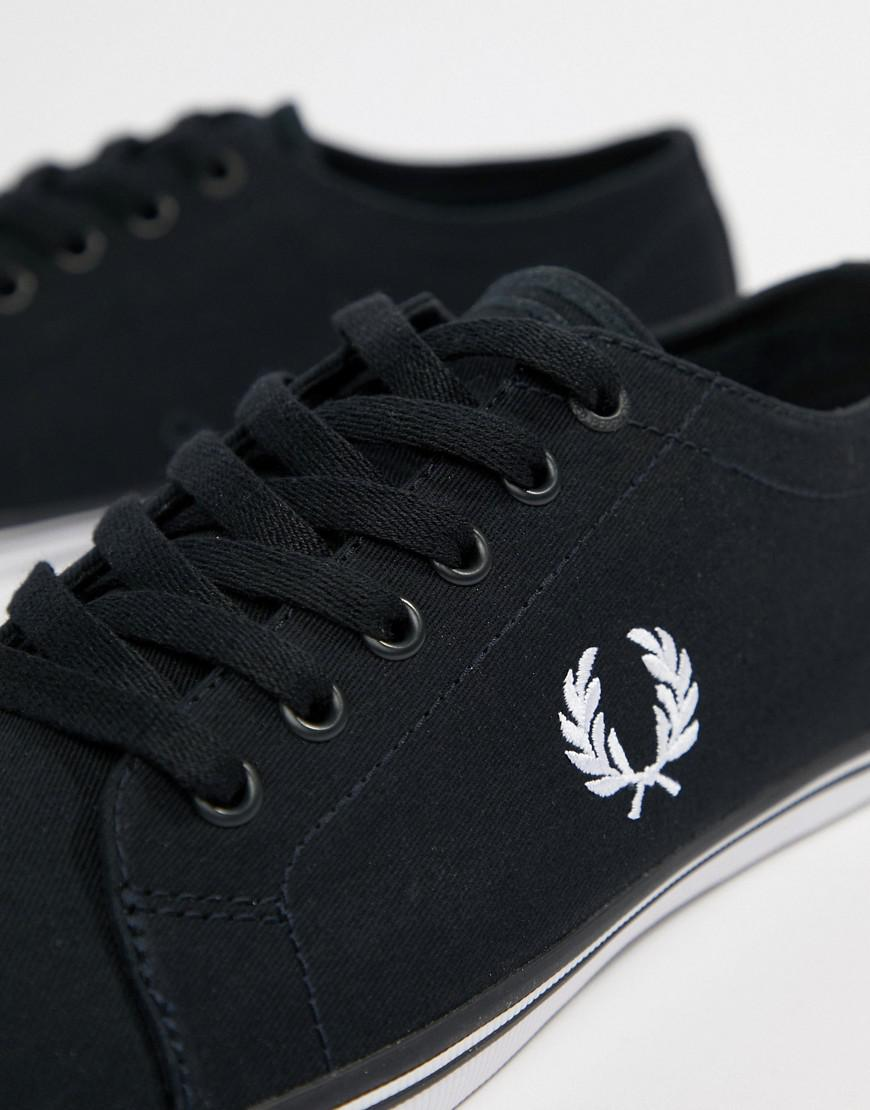 Fred Perry Kingston Twill Plimsolls In